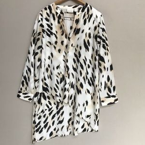 Chico's Long Tunic, Animal Print, Large 12